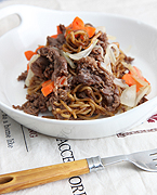 Stir-Fried Chapaghetti With Bulgogi