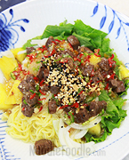 Vietnamese Style Dressing Noodle
