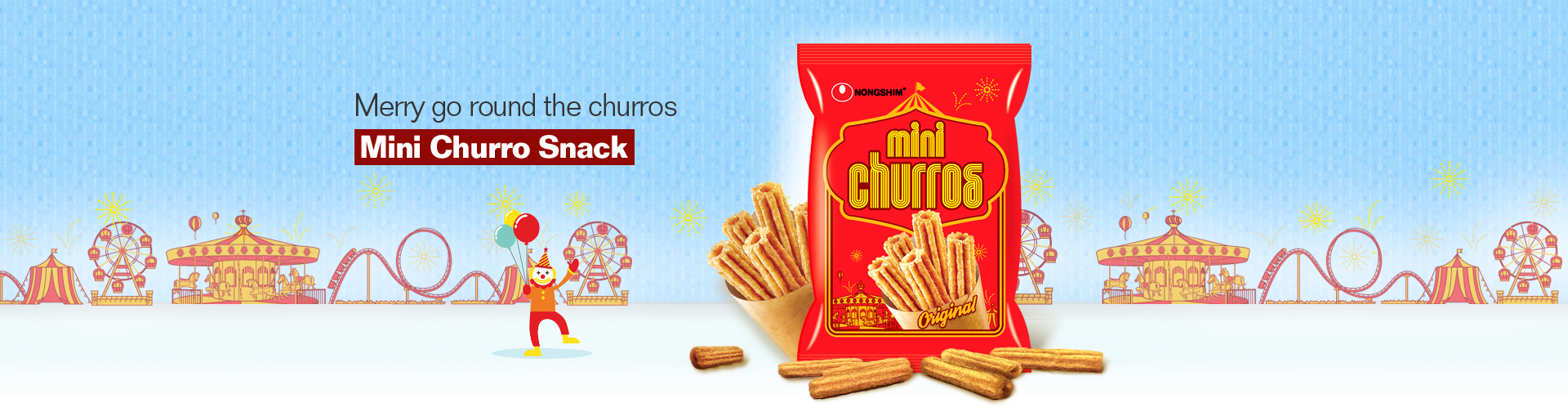 Sweet crispy combo of cinnamon and custard! MINI CHURRO SNACK