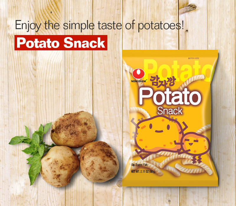 POTATO SNACK made with Korean potato
