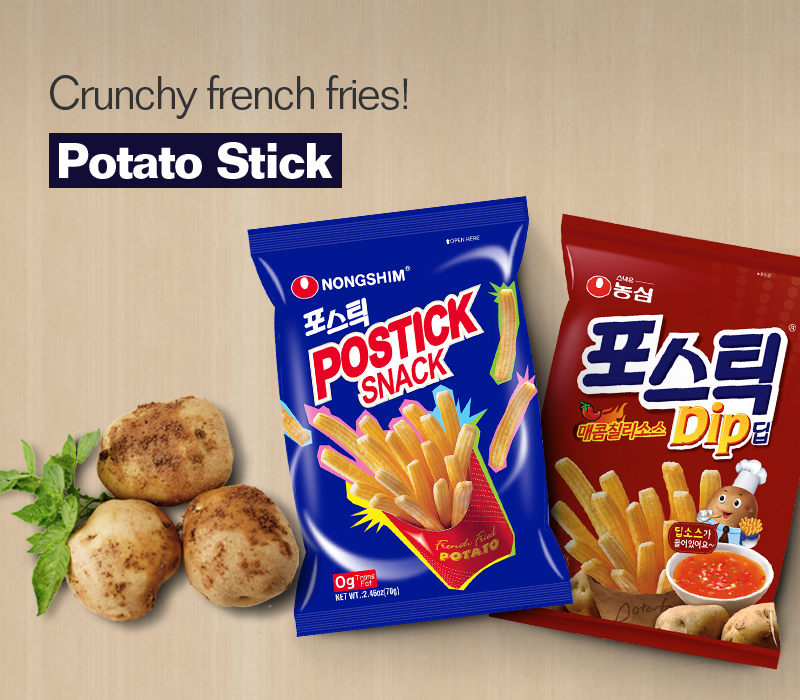 Thick and long potato snack! POTATO STICK