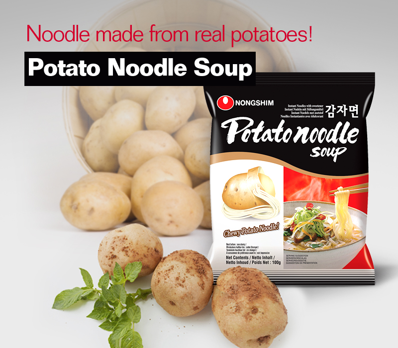 Noodle made from real potatoes! Potato Noodle Soup