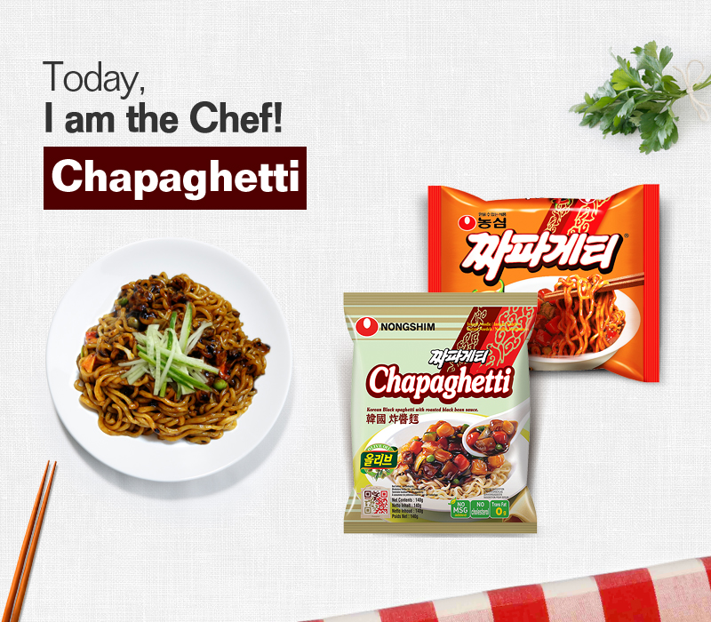 Today, I am the chef!