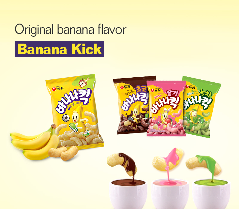 Original banana flavor, Bananakick
