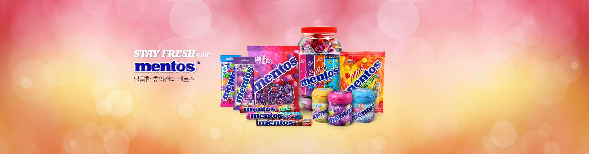 STAY FRESH with MENTOS