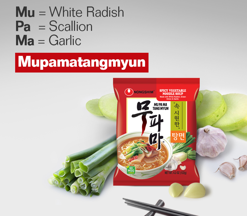 Mu = White Radish 