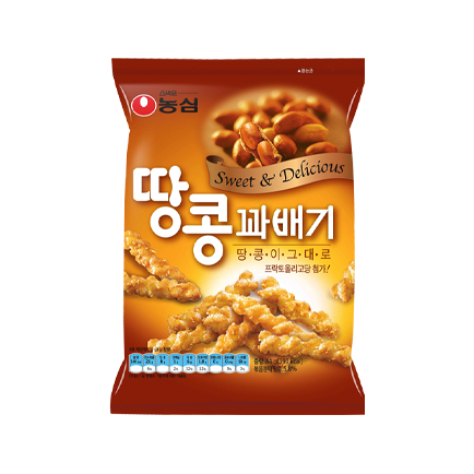 Honey Twist Snack (Peanuts) 큰이미지