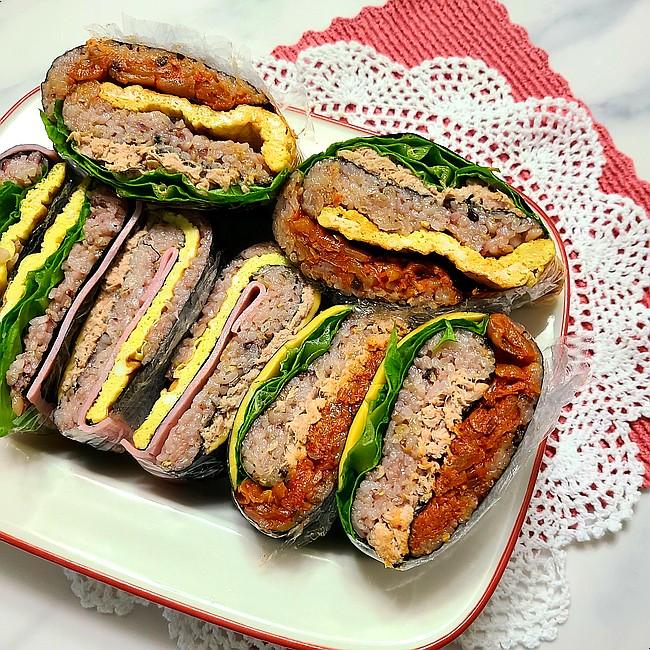 접는 김밥(접어먹는 김밥)